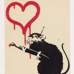 FROM THE STREET TO THE MUSEUM. Works of the artist known as BANKSY
