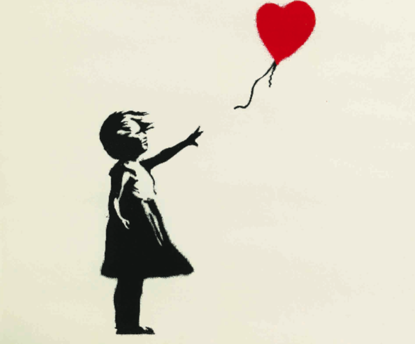 <br><br>GIRL WITH BALLOON