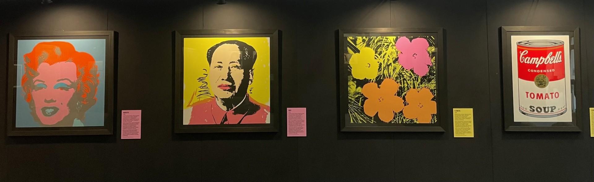 <br><br>Andy Warhol – Pop Art Identities